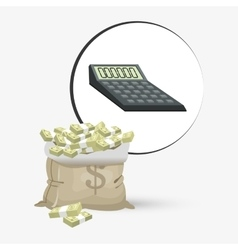Money design Financial item Isolated vector image