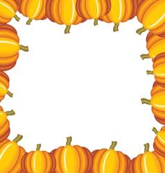 Pumpkin frame vector