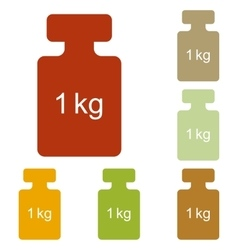 Weight simple sign vector
