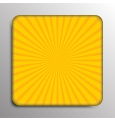 Background solar yellow rays eps 10 vector