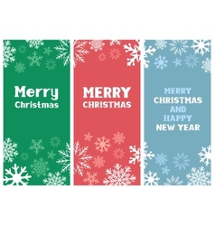 Multicolored Christmas Card vector image vector image