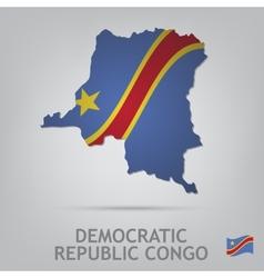 Democratic republic congo vector