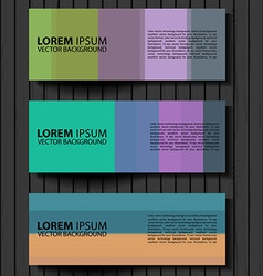 Textural banners in grunge style vector