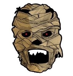 Mask Halloween Set 5 vector image vector image