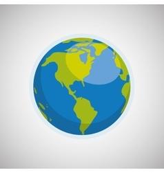 Planet icon design vector image