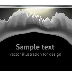 Torn metal graphic vector