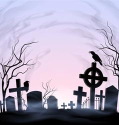 Graveyard vector image