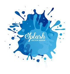 Splash concept design vector