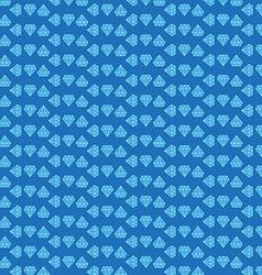 blue diamond background vector image vector image