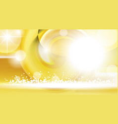 digital yellow abstract empty background vector image vector image