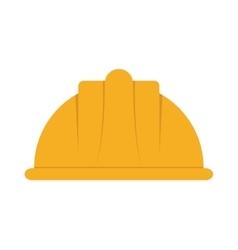 Helmet industrial security icon vector