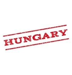 Hungary watermark stamp vector