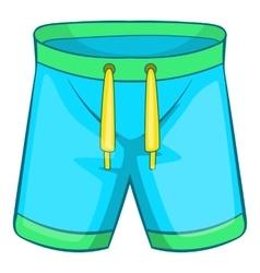 Sport shorts icon cartoon style vector image vector image