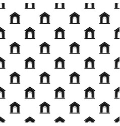 Toy house pattern vector