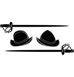 spanish helmets vector image