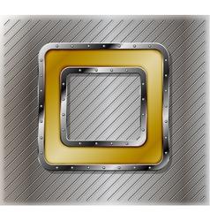 Metallic number zero vector image vector image