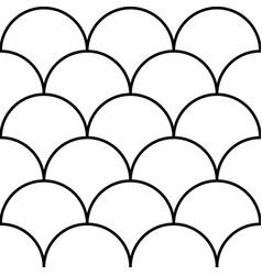 Scandinavian style pattern seamless modern vector