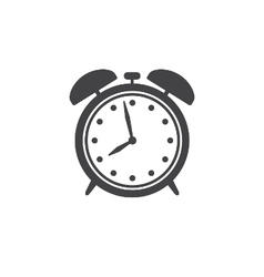 Alarm clock icon isolated vector image