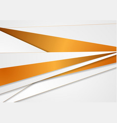 Abstract grey and bronze corporate stripes vector