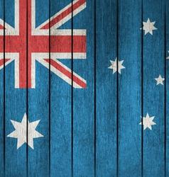 Grunge flag of australia vector