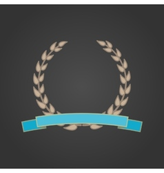 Laurel wreath vector image