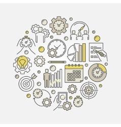 Productivity vector image