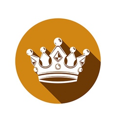 Royal design element regal icon stylish majestic vector