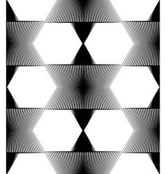 Black and white ornamental pattern seamless art vector