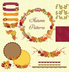 Flower Clipart Set vector image vector image