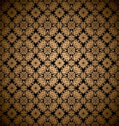 gold leaf wallpaper vector image