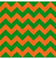 Green and Orange Hippie Pattern vector image
