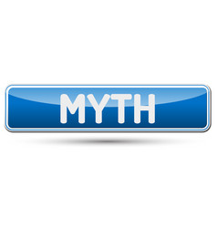 Myth - abstract beautiful button with text vector