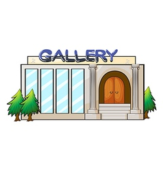 Gallery vector image
