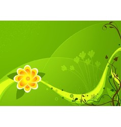 Colored Flower And Floral vector image