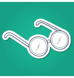 Doctors glasses vector