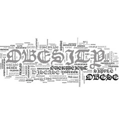 A look at obesity text word cloud concept vector