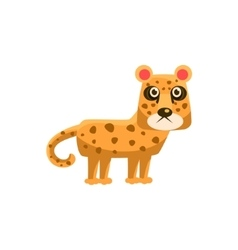 Leopard funny vector