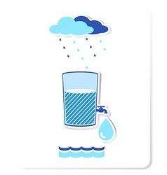 water3 vector image