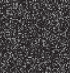 abstract black and white halftone background vector image vector image