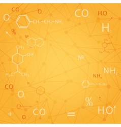 Chemical abstract background vector