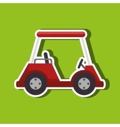 Golf championship design vector