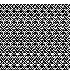 Japanese pattern asian wave background vector