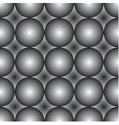 seamless pattern black and white ceramic tile vector image