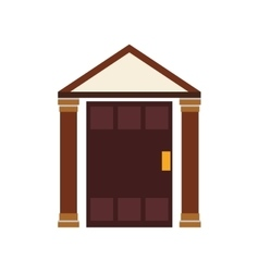Home house building real estate icon vector