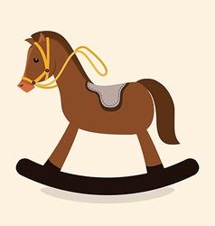 Horse design vector