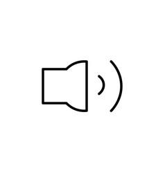 Medum volume icon vector