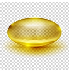 Transparent capsule image vector