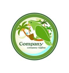 Jungle-Drink-Logo-380x400 vector image vector image
