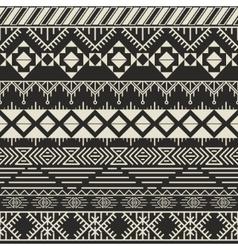 Retro pattern aztec background vector