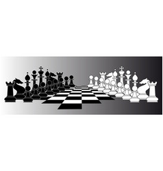 Chess series vector